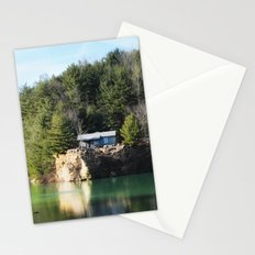 Cabin on the Lake Stationery Cards