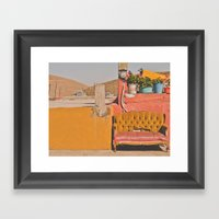 Treasure In Zacatecas Framed Art Print