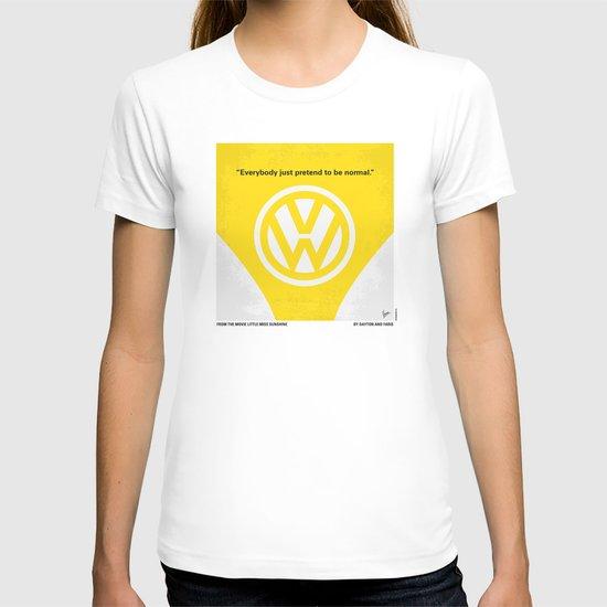 No103 My Little Miss Sunshine movie poster T-shirt