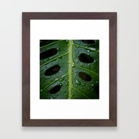 Monsterio Framed Art Print
