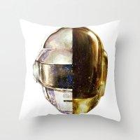 DAFTPUNK II Throw Pillow