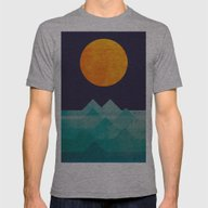 The Ocean, The Sea, The … Mens Fitted Tee Athletic Grey SMALL