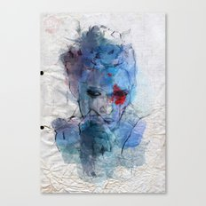 blue lover Canvas Print