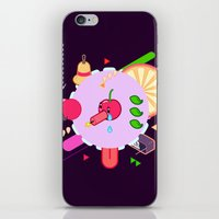 Tasty Visuals - Cherry P… iPhone & iPod Skin