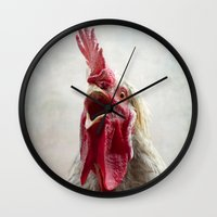 Cockadoodle Doooo! Wall Clock