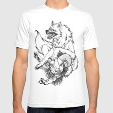 Ramtastic Mens Fitted Tee White SMALL