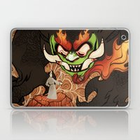 Samurai Jack And Aku Laptop & iPad Skin