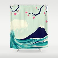 Falling in love 2 Shower Curtain