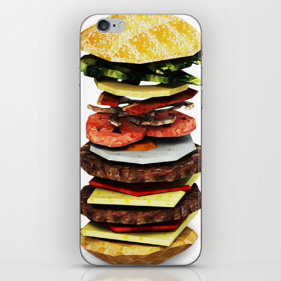 Graphic Burger iPhone & iPod Skin