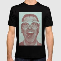 Patrick Bateman - The Hipster (Feat. Marta Macedo) Black SMALL Mens Fitted Tee