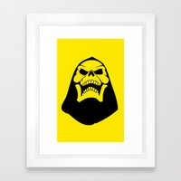 Skeletor. Framed Art Print