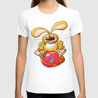 T-shirt featuring Proud Easter Bunny by Zoo&co on Society6 Products