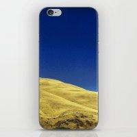 golden hillside iPhone & iPod Skin