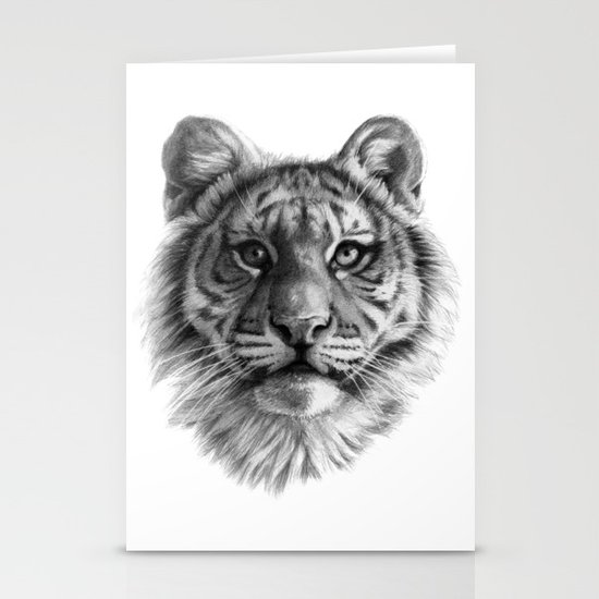 Tiger Cub SK106 Stationery Card
