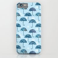 iPhone & iPod Case featuring rain #1 by serenita