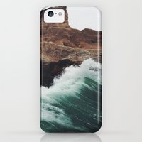 iPhone 5c Cases featuring Montaña Wave by Kevin Russ
