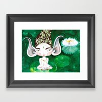 Bhoomie All-Ears Framed Art Print
