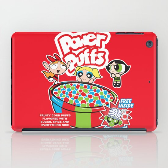 Power Puffs Cereal iPad Case