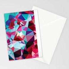 Polygon Pattern Stationery Cards