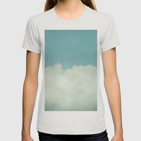 Come With Me, Wendy (blu… Womens Fitted Tee Silver SMALL