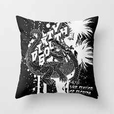 DIRTY SOUTH: The Flavor of Florida Throw Pillow
