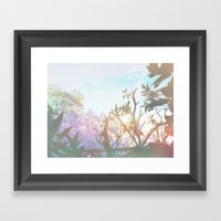 Living In The Sun Framed Art Print