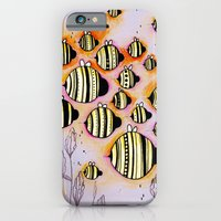 iPhone & iPod Case featuring Swarm by Ugly Yellow