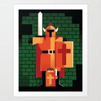 Dungeons & Darknuts Art Print