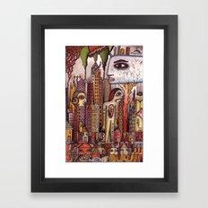 A Brief Return Framed Art Print
