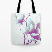 Magnolia Art Tote Bag