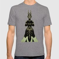 Ornate Spirituality Mens Fitted Tee Tri-Grey SMALL