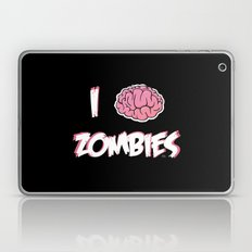 I Brain (Love) Zombies Laptop & iPad Skin