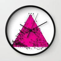 A (abstract geometrical type) Wall Clock