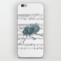 Music Beetle iPhone & iPod Skin