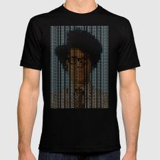 The IT Crowd SMALL Mens Fitted Tee Black