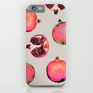 Pomegranate Pattern iPhone 6 Slim Case