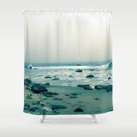 Block Island Beach Shower Curtain