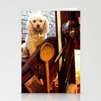 My Dear Poodle Stationery Cards