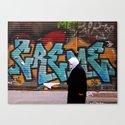 graffiti in Istanbul Canvas Print