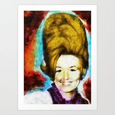 Young Dolly by Aaron Bir Art Print