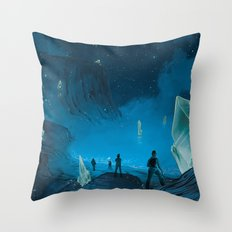 The Ethereal Underground Throw Pillow