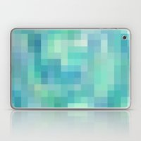Re-Created Colored Squares No. 17 by Robert S. Lee Laptop & iPad Skin