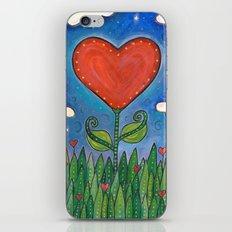 Let Love Grow iPhone & iPod Skin