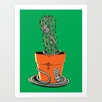 Desert Atmosphere Art Print