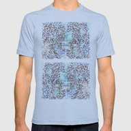 Abstrusion 1 Mens Fitted Tee Athletic Blue SMALL