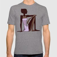 Lavender Lady Mens Fitted Tee Tri-Grey SMALL