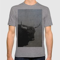 The Lumbering Beast  Mens Fitted Tee Athletic Grey SMALL