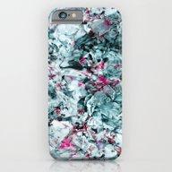 FLORAL WAVES iPhone 6 Slim Case