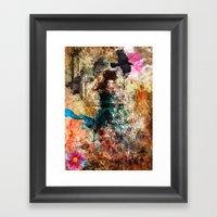 Fairy Painting Framed Art Print