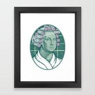 Laundering Day Framed Art Print